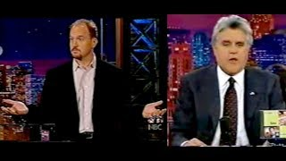 Louis C.K. 11/2002 - First appearance on Tonight Show With Jay Leno! RARE!!