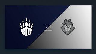 CS:GO - BIG vs. G2 [Dust2] Map 1 - EU Matchday 10 - ESL Pro League Season 8