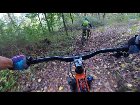 Friday ride with Greg @ Lewis Morris