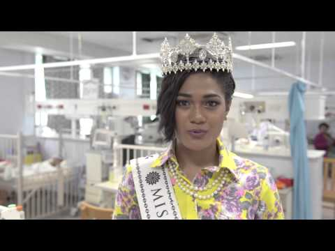 Miss Fiji - Beauty with a Purpose 2014