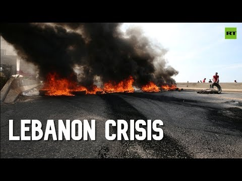 Beirut Aflame As Protests Over Economic Crisis Sweep Lebanon For 2nd Day