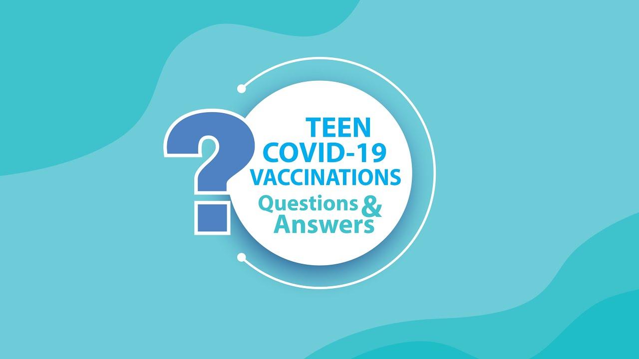 COVID-19 Vaccine for Teens 12+ | Vacuna COVID-19 para adolescentes mayores de 12 años