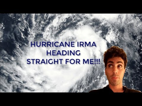 Hurricane Irma and Im in Miami Florida To See Coral Castle!!!!!!