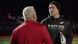 Zach Ertz Surprises High School Coach