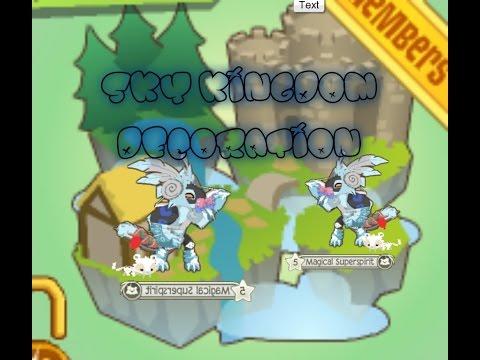 Animal Jam Den Decoration: Sky Kingdom !
