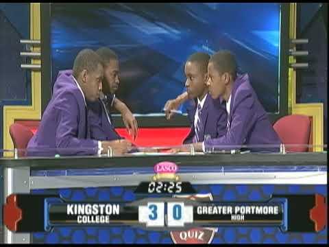 Kingston College vs Greater Portmore High - TVJ SCQ - January 26 2018 Clip