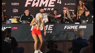 LINKIEWICZ OBLEWA SEXMASTERKE WODĄ XD | FAME MMA 4 #SHOT