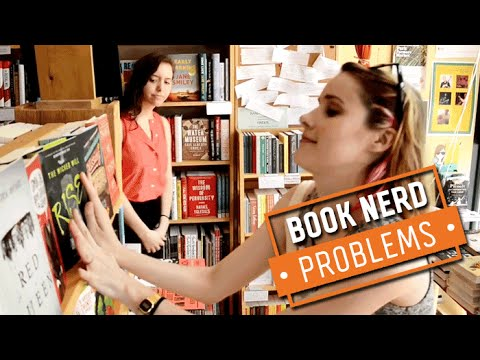 Book Nerd Problems | Rearranging the Bookstore
