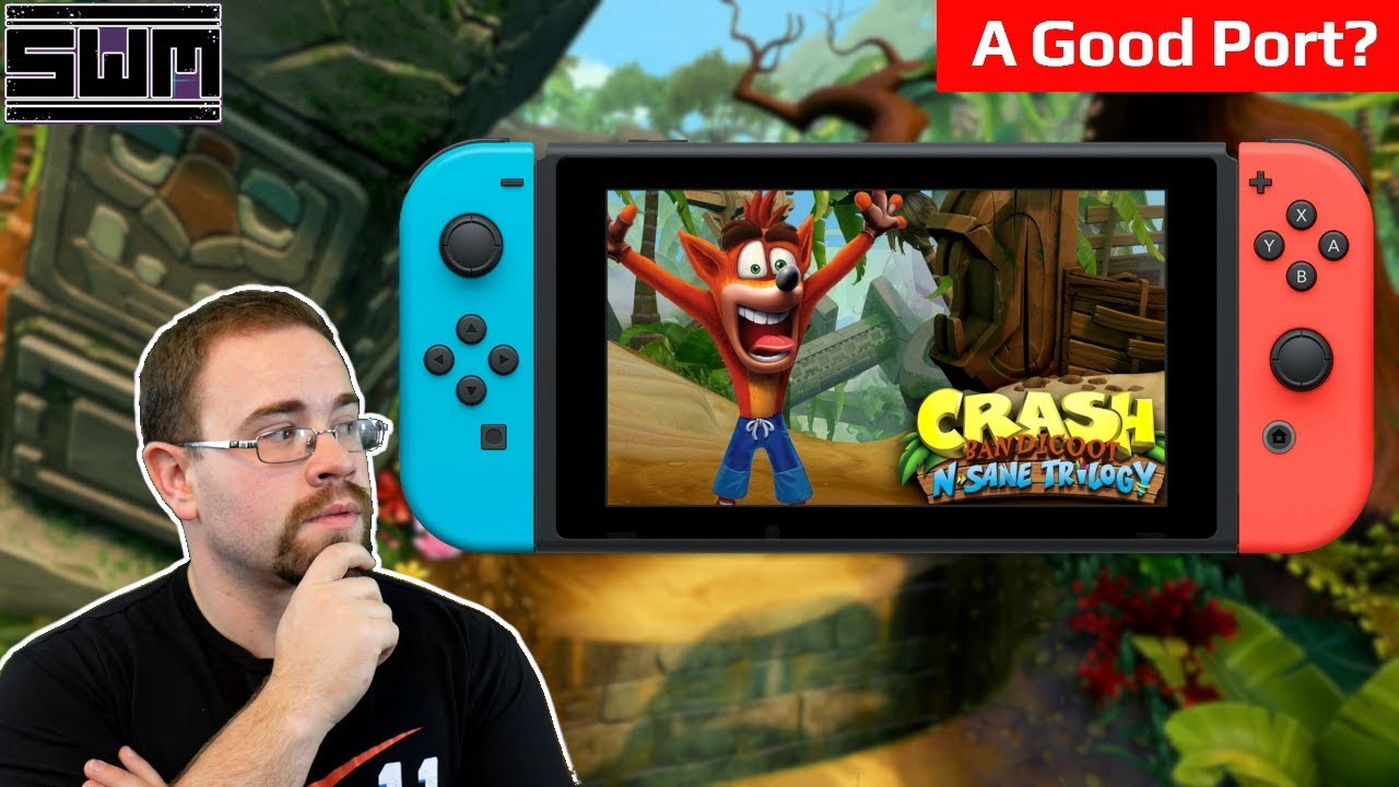 How Does Crash Bandicoot On Nintendo Switch Run? | Spawn Wave Plays