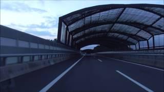 新名神高速道路 土山SA~東名阪自動車道 御在所SA上り(EXPASA御在所 上り)