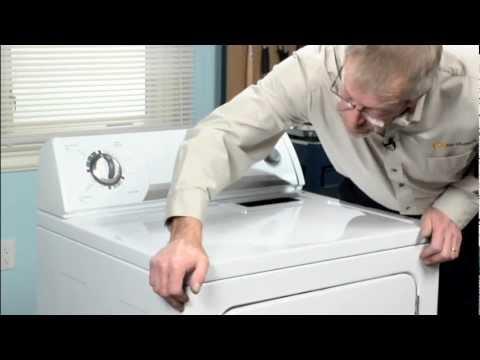 Dryer Repair- Replacing the Multi Rib Belt (Whirlpool Part #341241)