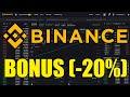 Binance Sign Up BONUS ️ SAVE 20% Trading Fees for Lifetime ...