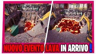 EVENTO LAVA A SPROFONDO STANTIO FORTNITE EVENTO RE DEL FUOCO