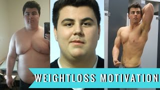 My 140lb Youtube Transformation | Weightloss Motivation | 312lbs - 172lbs