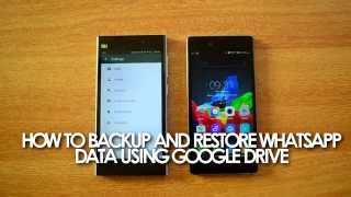 How to Backup and Restore (Transfer) WhatsApp Messages to Another Device