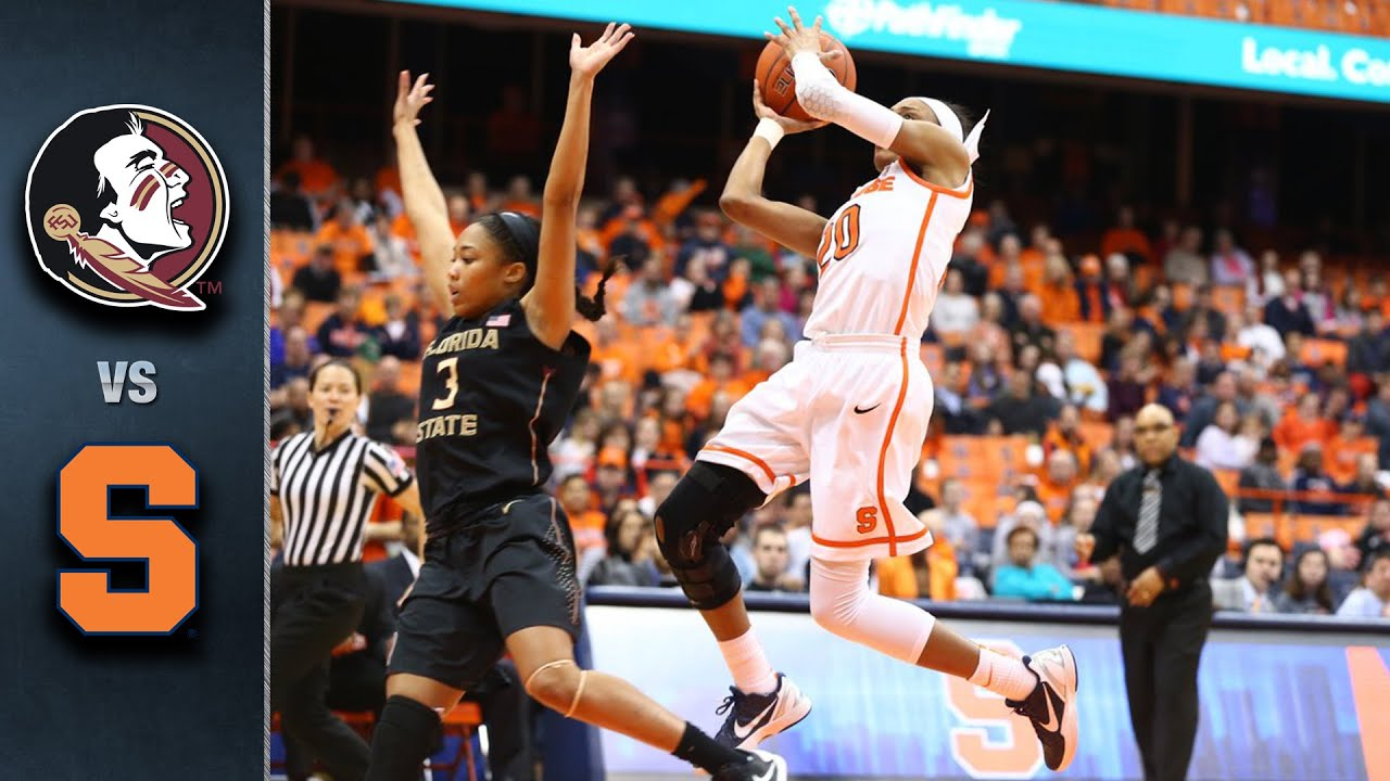 florida state vs. syracuse women's basketball highlights (2015-16