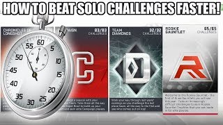 HOW TO BEAT SOLO CHALLENGES FASTER IN MADDEN 19! | MADDEN 19 ULTIMATE TEAM