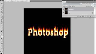 Создаем огненный текст в Photoshop. Часть 2 (19/40)