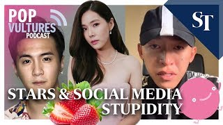 Stars & Social Media Stupidity | Pop Vultures Podcast | The Straits Times