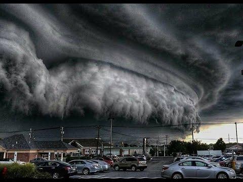 Masiva Tormenta Supercell sobre Cleveland - USA | Agosto 2016