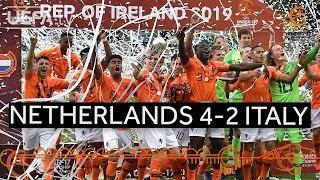 #U17 Final highlights: Netherlands 4-2 Italy