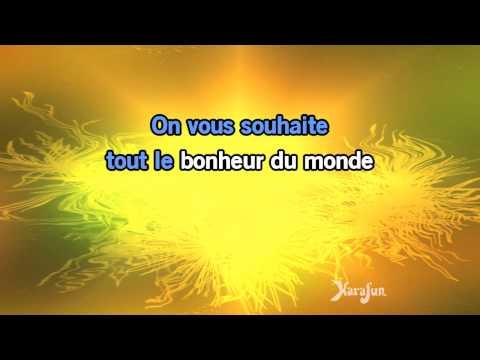 Karaoké Tout le bonheur du monde - Sinsemilia *