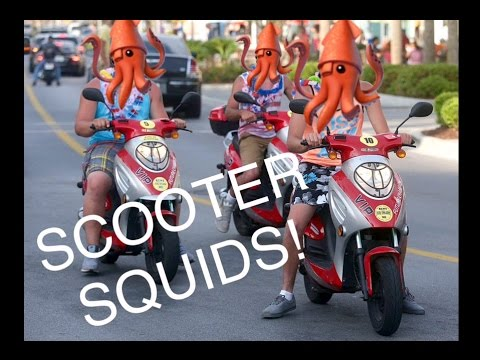 Scooter Squids! | Bike Upgrades! | Fixed My Audio!