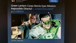 Chris McQuarrie Eyed to Direct Green Lantern Corps