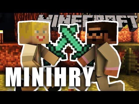 Pedro a Jirka | Minecraft minihry (záznam LS)