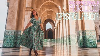 Solo Female Travel in Morocco - Casablanca, Hassan II Mosque - Episode 4