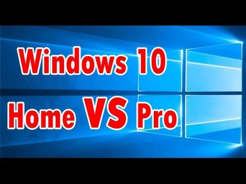 Windows 10 Home ve Profesyönel Karşılaştırması Yaptık