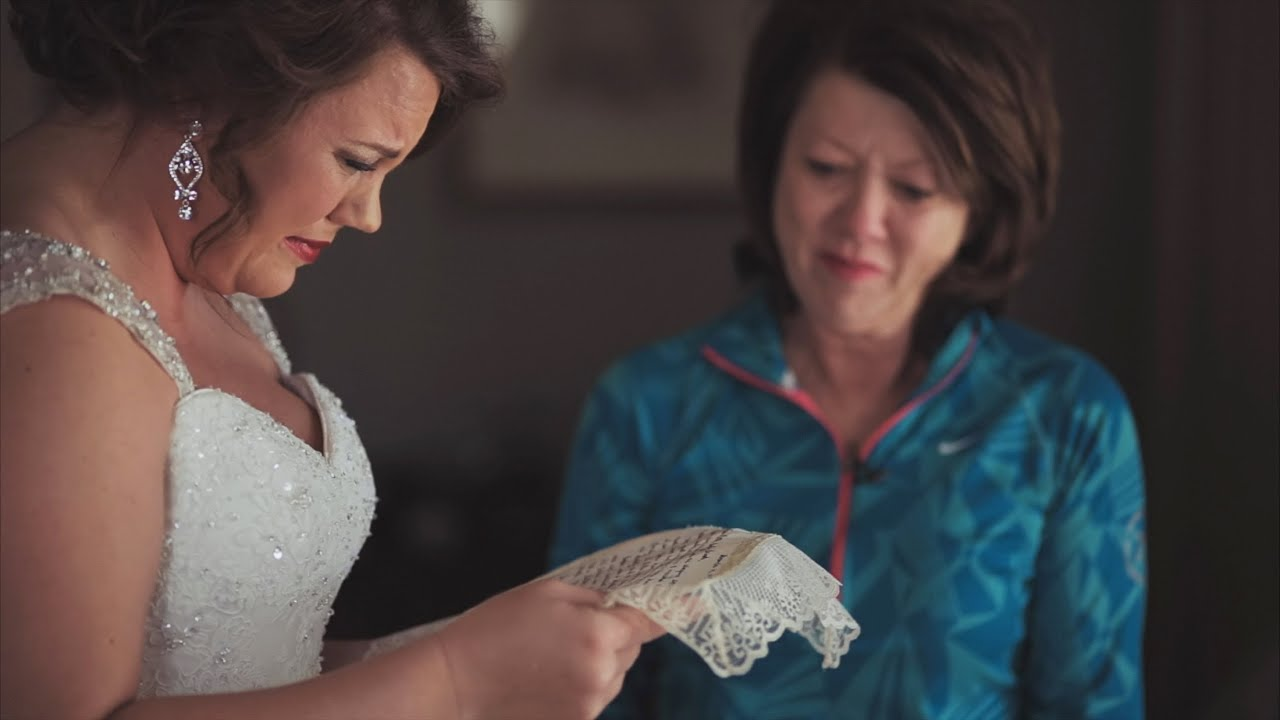 Mom Saves Letter 20 Years for Daughter\'s Wedding Gift {Brooke ...