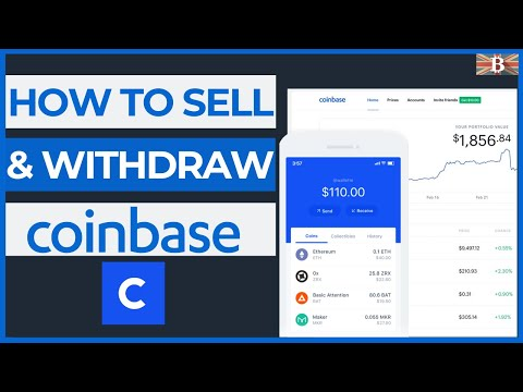 How To Sell \u0026 Withdraw From Coinbase (Bank Transfer \u0026 PayPal)