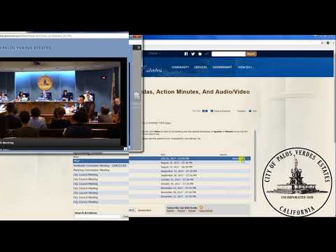 """""""How-to"""" Access City Meeting Materials and Video/Audio Recordings"""