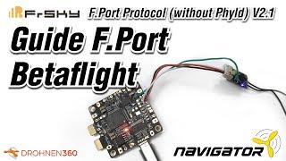 Керівництво по налаштуванню порту Ф. з FrSky Р-XSR і Betaflight 3.3 (англійською мовою)