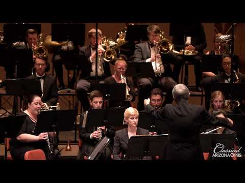 ASU Wind Orchestra perform Persichetti: Divertimento for Band (Mvts 1-4)