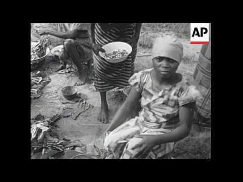 Nigeria - Civil War, Famine in Biafra