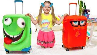 Милли с маленькой сестренкой собираются в путешествие