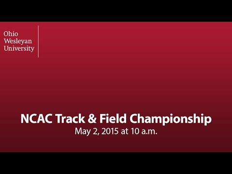 May 2, 2015: NCAC Track & Field Championship