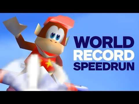 Download Youtube: Diddy Kong Racing World Record Speedrun