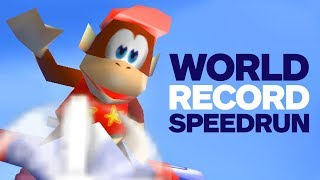Diddy Kong Racing World Record Speedrun