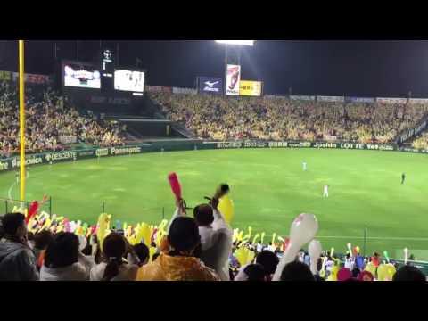 Hanshin Tigers 7th Inning Stretch @ Koshien Stadium, Osaka Japan