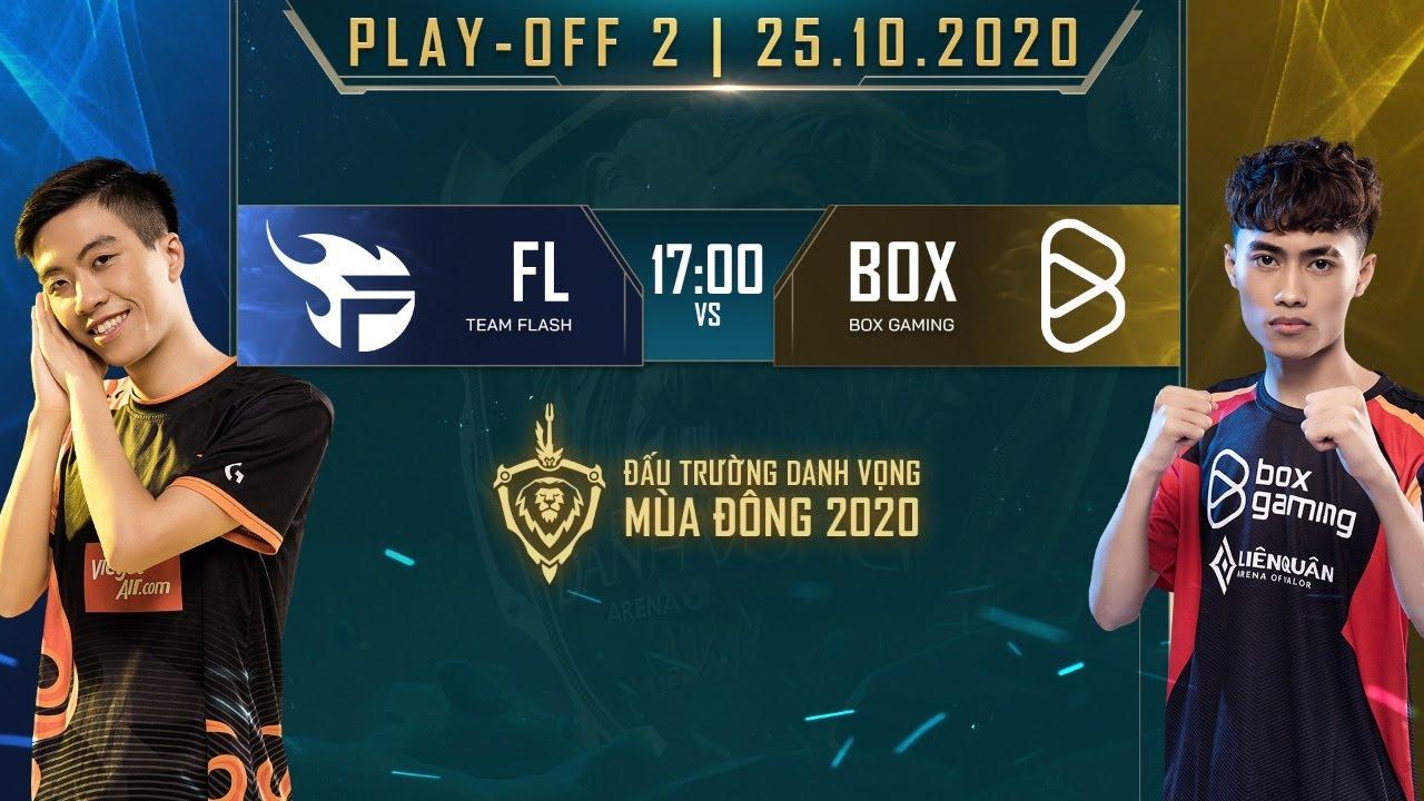 BOX Gaming biến Team Flash thành cựu vương | FL vs BOX - Playoff 2 [25.10.2020] - ĐTDV mùa Đông 2020