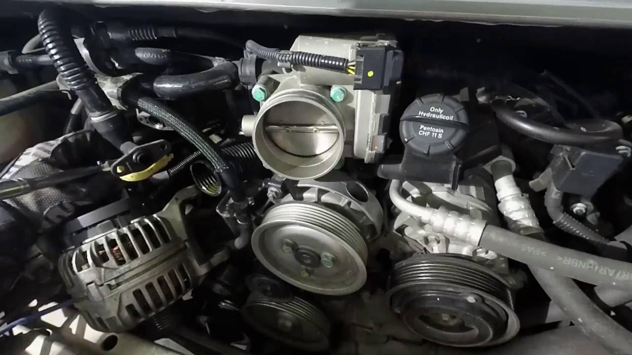 Porsche 996997 Oil Pipe Hose Filler Replacement  YouTube