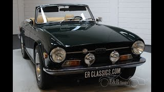 Triumph TR6 Cabriolet 1971 Top condition -VIDEO- www.ERclassics.com
