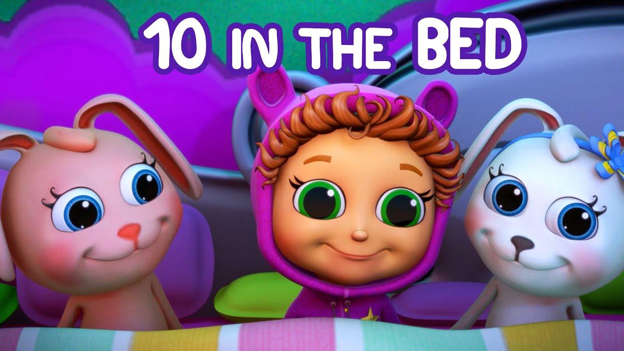 Ten In The Bed Nursery Rhymes Kids Songs Baby Songs