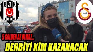 Beşiktaş mı Galatasaray mı Derbiyi kim kazanır 17.01.2021