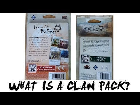 What is a Clan Pack for Legend of the Five Rings (L5R) LCG - Imperial Chronicle