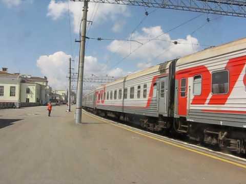 Отправление из Новосибирска (скорый поезд №100 Москва-Владивосток) (Зап.-Сиб. ж.д.)