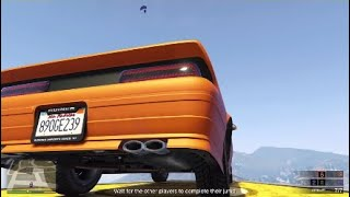 Fly car dart gta v funny moments